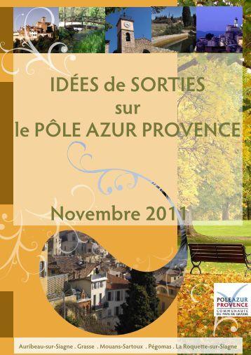 Brochure tourisme d 39 affaires office de tourisme de grasse - Office de tourisme grasse ...
