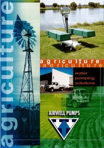 Page 1 Page 2 AGRICULTURE How does it Work? An Airwell Pump ...
