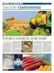 SAPORI E COLORI DI ALTRI TEMPI - Corriere del Mezzogiorno ...