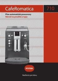 CafeRomatica 710 (PDF) - elektro BREL