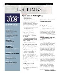 JLS Times Issue V May June 2012