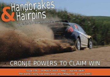 Handbrakes & Hairpins issue 226