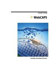 WebCAPS - Grundfos