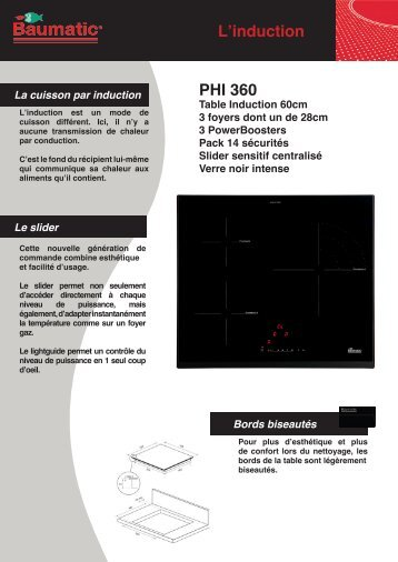 L'induction PHI 360