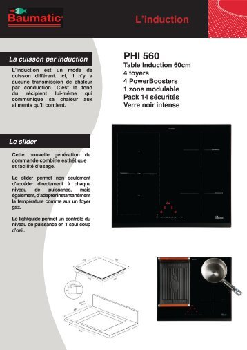 L'induction PHI 560