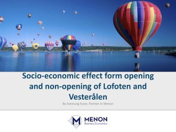 The socio-economic and business development effect from opening ...