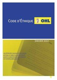 Code d'Éthique - Ohl