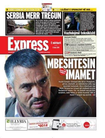 SERBIA MERR TREGUN - Gazeta Express