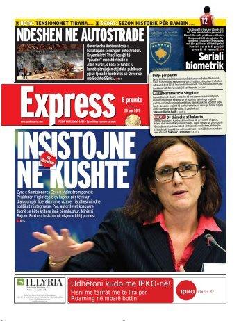 NDESHEN NE AUTOSTRADE - Gazeta Express