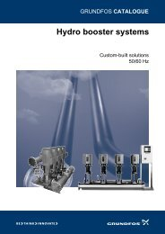 Hydro booster systems - Energy-efficient pumps for commercial ...