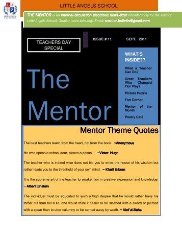 Mentor Theme Mentor Theme Quotes
