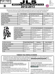 Registration Form - Jane Lathrop Stanford Middle School - Palo Alto ...