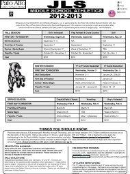 Registration Form - Jane Lathrop Stanford Middle School - Palo Alto ...
