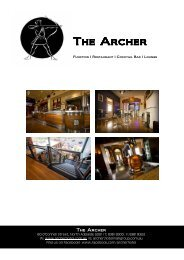 Click here to download The Archer Function Package - Archer Hotel