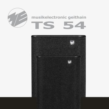 TS54 Prospekt - ME Geithain