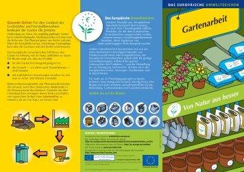 Garten - Ecolabel
