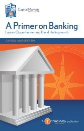 A Primer on Banking - Come Let Us Reason Together - Third Way
