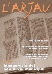 N. 46 (juliol 2003) - Ajuntament de Sant Feliu de Guíxols