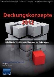 Deckungskonzepte 2012 - Das eMagazin!