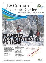 Décembre, vol. 1, num. 10 - MRC de La Jacques-Cartier