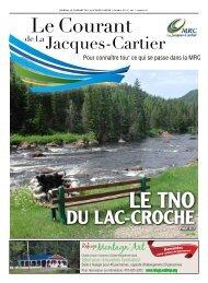 Octobre, vol. 1, num. 8 - MRC de La Jacques-Cartier