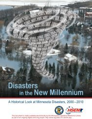 Decade Disasters Report.qxd - Minnesota State Legislature