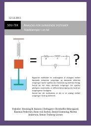 Analogi for svingende systemer [Dec. 2011] - Simon Traberg-Larsen