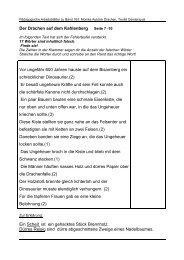 Der Drachen auf dem Kahlenberg Vor ungefähr 600 Jahren hauste ...