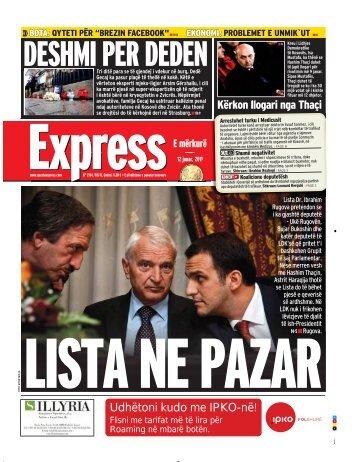 DESHMI PER DEDEN - Gazeta Express