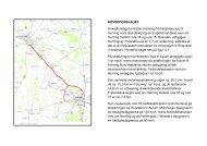 HOVEDFORSLAGET Hovedforslaget omfatter motorvej fra Holstebro ...