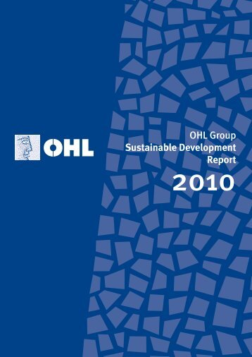 OHL Group Sustainable Development Report - ACM2 . Avalora ...