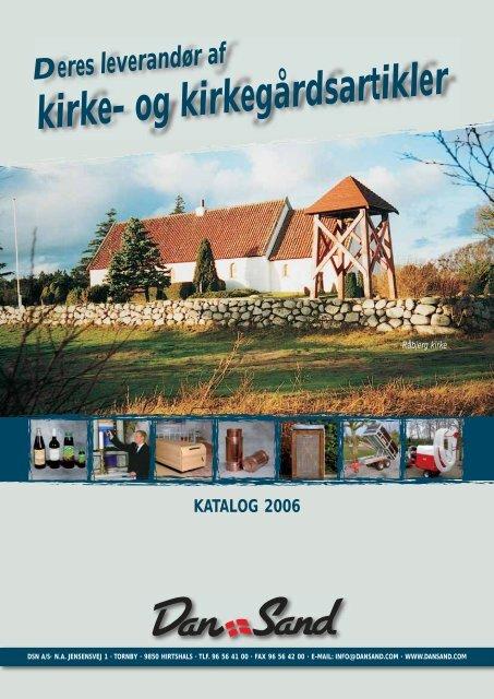 download katalog – klik her - DSN A/S - Kirke- og kirkegårdsartikler.