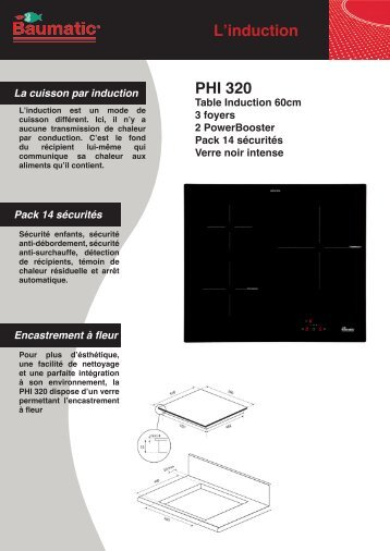 L'induction PHI 320