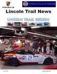 June 2009 - Lincoln Trail - Porsche Club of America