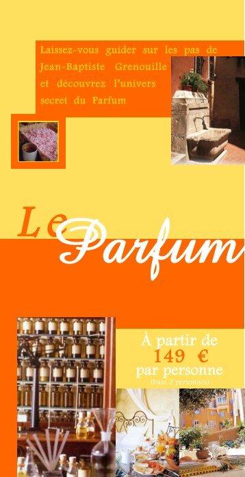 Parfum - Office de tourisme de Grasse