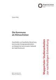 WSA3_Maerz.pdf - Publication Server of the Wuppertal Institute ...