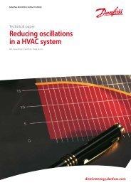Reducing oscillations in a HVAC system - Danfoss.com