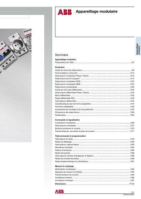 disjoncteur 4 p/ôles abb s204l courbe c abb 350439 20a 6 ka bornes /à vis
