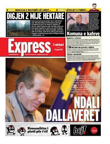 DIGJEN 2 MIJE HEKTARE - Gazeta Express