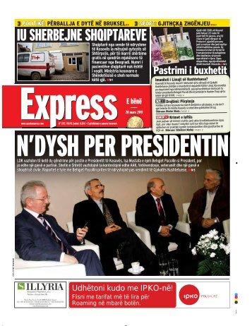 IU SHERBEJNE SHQIPTAREVE - Gazeta Express