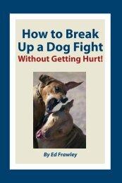 How to Break Up a Dog Fight - Leerburg Enterprise, Inc