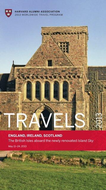 ENGLAND, IRELAND, SCOTLAND The British Isles aboard the ...