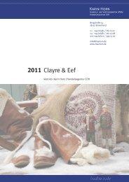Katalog Clayre & Eef 2011 - frauhorn.de