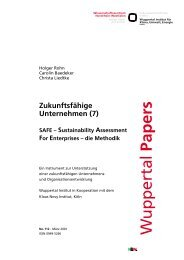WP112.pdf - Publication Server of the Wuppertal Institute ...