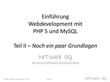 Pdf besser php programmieren
