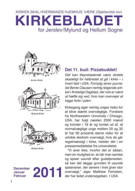 Kirkeblad December 2011.indd - Jerslev kirke