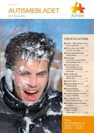 Medlemsblad nr. 2, 2012 - Landsforeningen Autisme