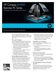 Fits your business - HP