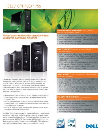 dell optiplex 755 specs pdf