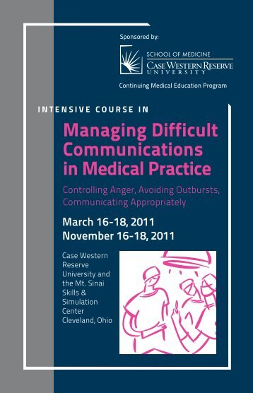 Managing Difficult Communications in Medical Practice